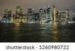 night view of the lower... | Shutterstock . vector #1260980722