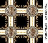 Seamless Baroque  Lepard Skin ...