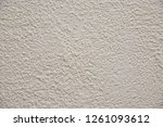 texture of the old plastered...   Shutterstock . vector #1261093612