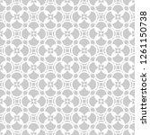 seamless modern lacy pattern.... | Shutterstock .eps vector #1261150738