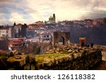 hdr city  panoramic  landscape... | Shutterstock . vector #126118382