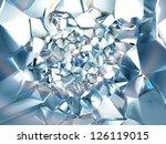 Clear Ice Blue Crystal...
