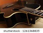 musical instrument   fragment... | Shutterstock . vector #1261368835