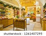 rome  italy   circa november ... | Shutterstock . vector #1261407295
