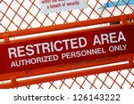 A Security Sign Outside A...