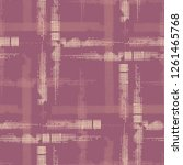 plaid. grunge stripes. abstract ... | Shutterstock .eps vector #1261465768