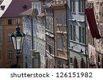 prague   neruda street ... | Shutterstock . vector #126151982
