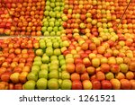 Grocery Apples - stock photo