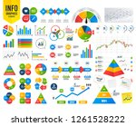 business infographic template.... | Shutterstock .eps vector #1261528222