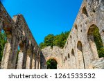 ancient roman city ruins in... | Shutterstock . vector #1261533532