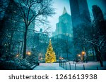 Scenic Winter Evening View Of...