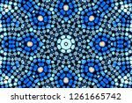 abstract geometric background... | Shutterstock . vector #1261665742