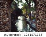 arch way of a bridge    Shutterstock . vector #1261671385