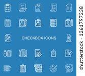 editable 22 checkbox icons for...