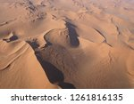 aerial views over the namib... | Shutterstock . vector #1261816135