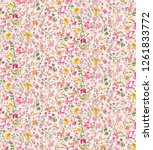 lovely love little tiny small... | Shutterstock . vector #1261833772