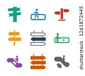 guide icons. trendy 9 guide...   Shutterstock .eps vector #1261872445