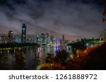 view of brisbane city from... | Shutterstock . vector #1261888972