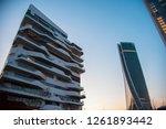 milan  italy   3 february 2018. ... | Shutterstock . vector #1261893442