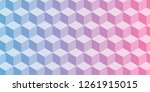 abstract honeycomb cubes vector ...