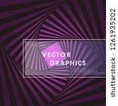 vector hexagon shapes ... | Shutterstock .eps vector #1261935202