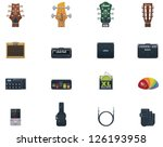 Vector Guitar Icons Set. Part 1....