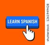 hand mouse cursor clicks the... | Shutterstock . vector #1261949428