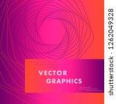 vector hexagon shapes ... | Shutterstock .eps vector #1262049328