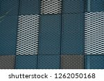 abstract close up view of... | Shutterstock . vector #1262050168