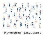 vector isomeric different... | Shutterstock .eps vector #1262065852