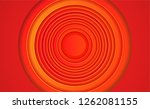 looney red circles tunes... | Shutterstock .eps vector #1262081155