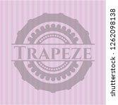 trapeze realistic pink emblem | Shutterstock .eps vector #1262098138
