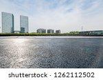 panoramic skyline and modern... | Shutterstock . vector #1262112502