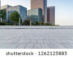panoramic skyline and modern... | Shutterstock . vector #1262125885
