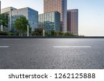 panoramic skyline and modern... | Shutterstock . vector #1262125888