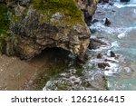 rocky sea shore | Shutterstock . vector #1262166415