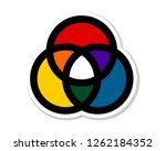 primary and secondary colors ...   Shutterstock .eps vector #1262184352