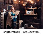 knowledge and reading... | Shutterstock . vector #1262205988