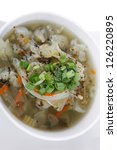diet food   vegetable soup...
