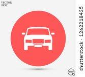 car vector icon 10 eps | Shutterstock .eps vector #1262218435