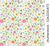 vector seamless pattern. pretty ...   Shutterstock .eps vector #1262231872