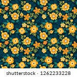 seamless floral pattern for... | Shutterstock .eps vector #1262233228