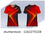 t shirt sport design template ... | Shutterstock .eps vector #1262275228