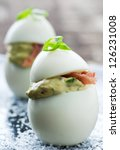 Fancy Vertical Deviled Egg...
