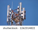 telecommunication network... | Shutterstock . vector #1262314822