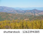 colorful wide autumn view in... | Shutterstock . vector #1262394385