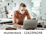 new concept. young designer... | Shutterstock . vector #1262396248
