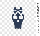 jolly roger icon. trendy jolly...   Shutterstock .eps vector #1262424022