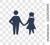 loved human icon. trendy loved...   Shutterstock .eps vector #1262425045