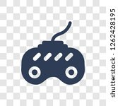 game controller icon. trendy...   Shutterstock .eps vector #1262428195